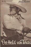 1731: Der Held von Texas   TOM MIX  William Farnum