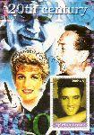 Somalia 2002:  Elvis Presley  mit Sonderstempel,