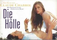 Die Hölle ( Claude Chabrol ) Francois Cluzet, Emmanuelle Beart,