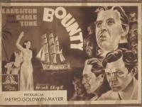 Bounty ( Metro Goldwyn Mayer ) Charles Laughton, Clark Gable, Franchot Tone,