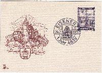 Eisenerz 24. 2. 1953 1 Jahr A.B.S.V. Sonderblatt Merkur Nr: 311