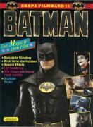 Batman ( Tim Burton ) Michael Keaton, Kim Basinger, Jack Nicholson, Billy de Williams, Jerry Hall, Pat Hingle, Michael Gough, Jack Palance, Robert Wuhl ( Rückseite Prince )