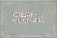Cäsar und Cleopatra ( Bernard Shaw ) Vivien Leigh, Claude Rains, Flora Robsen, Stewart Granger, Stanley Holloway, Leo Genn,