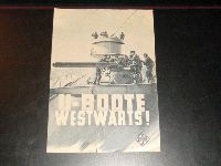U - Boote westwärts !  ( Propaganda )   Herbert Wilk,