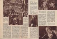 Der große König ( Veit Harlan ) ( Bericht 4 Seiten ) Kristina Söderbaum, Otto Gebühr, Harrry Hardt, ( GV )