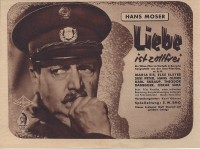 Liebe ist Zollfrei ( E. W. Emo )  ( Bavaria )  Hans Moser, Maria Eis, Else Elster, Oskar Sima ( BV )