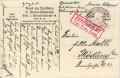 Feldpost 1. WK. K.u.K. Marinefeldpostamt Pola Zensur 1918 auf Bund Karte  ( 73 )