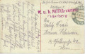 Feldpost 1. WK. K.u.K. Militärzensur Oderberg 1916 auf Oderberg AK Bahnhof usw  ( 75 )