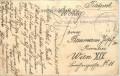 Feldpost 1. WK Reserve in der Schafwollwarenfabrik in Neugedein Karte Prag Hradschin 1915  ( 87 )