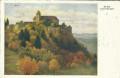 Burgenland: Gruß aus Schloss Bernstein 1932 Kunstkarte Karl Maria Schuster