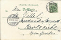 Deutschland: Gruss aus Dresden Litho 1898 Zinzendorfstrasse 17 / Hospiz