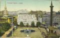 England: Gruß vom Trafalgar Square London 1934 alls Irrläufer nach Wien