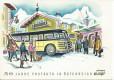 FDC: Nr: 1043: 14.6.1957 50 Jahre Postauto in Österreich auf Sonder Karte