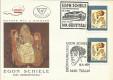 FDC: Nr: 2024:100. Geburtstag von Egon Schiele Schmuckkuvert mit Tulln Stempel 2