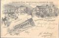 Tirol: Gruß aus Internationale Ausstellung in Innsbruck 1896 mit Sonderstempel