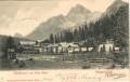 Italien: Gruß vom  Ampezzothal Schluderbach und Hohe Gaisl 1903