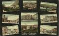 Italien: Gruß aus Görz - Goizia 1910 herrliche Karte mit 9 Ansichten nach Wien