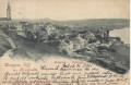 Jugoslawien: Gruß aus Belgrad - Belgrade 1899 Häuser, Stadt, usw.