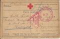 Kriegsgefangenpost Russland - Ungarn ( Rotkreuz ) 1916 rote Zensuren  ( 27 )