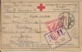 Kriegsgefangenpost Russland 1916 Lager Zabajkalien Ost Sibirien ( Klappkarte )  ( 34 )