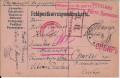 Kriegsgefangenpost Russland 1915 Lager Primorskaja Sibirien mit vielen Zensuren   ( 36 )