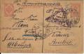 Kriegsgefangenpost Russland 1917 Ganzsache Lager Krindatschewka nach Wien  ( 38 )