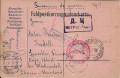 Kriegsgefangenpost 1915 von Wien ins Lager Wladivostok in Sibirien mit Zensuren  ( 46 )