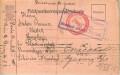 Kriegsgefangenpost Russland - Sibirien 1915 von Wien nach Russland  ( 56 )