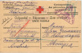 Kriegsgefangenpost Russland 1917 eines Hauptmanns Rotkreuz Zensur Wien  ( 57 )