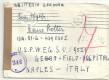 Kriegsgefangenenpost 1946 über Wien nach Naples Italy Feld Hospital mit Zensur  ( 71 )
