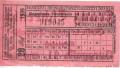 Kärnten: Gruß von der Klagenfurter Strassenbahn Fahrkarte mit Werbung 1939
