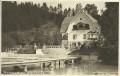 Kärnten: Gruß von Pörtschach am Wörthersee 1929 herrliche Fotokarte Villa Schnür
