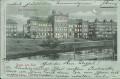 Lettland: Gruß aus Riga 1900 Das Polytechnikum ( Halt gegen das Licht Karte ! )