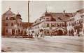 NÖ: Gruß aus Aspang Hotel schwarzer Adler Foto 1905