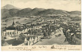 NÖ: Gruß aus Au am Leithaberg 1915 Post Hof schöne Panorama Ansicht