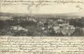 NÖ: Gruß aus Baden bei Wien 1902 Panorama mit Dr. Lantins Curanstalt