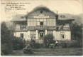 NÖ: Gruß aus Baden bei Wien 1910 Cafe Restaurant Rudolfshof mit Pferde Kutsche