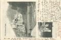 NÖ: Gruß aus Baden 1901 Villa Erzherzog Eugen und Willhelm Denkmal nach Halle an der Saale ( Correspondenz Tittel Korrespondenz )