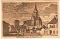 NÖ: Gruß aus Baden bei Wien 1920 ( Wienertor und Stadtpfarrkirche 1810 )