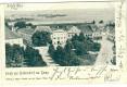 NÖ: Gruß aus Hadersdorf am Kamp 1901 herrliche Strassenfront nach Wien gelaufen