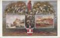 NÖ: Gruß aus Klosterneuburg - Leopoldsberg - Babenbergerburg ( 1500 - 1700 )