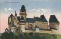 NÖ: Gruß aus Schloss Kreuzenstein 1912 herrliche Genaue Ansicht