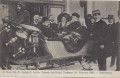 NÖ: Gruß vom Semmering Hotel Panhans 1909 Dr. Karl Lueger letzter Besuch