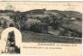 NÖ: Gruß aus Schabendörfl 1908 Post Altlengbach mit Wienerwald Warte 646 m Joch.