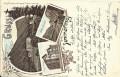 NÖ: Gruß vom Semmering Litho 1897 Hotel Waldhof, Bofferos Tunnel, Semmering Hotel ... ( Correspondenz Tittel Komponist )