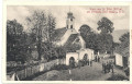 NÖ: Gruß aus St. Peter am Neuwald Post Aspang ca. 1920 Kirche, Menschen usw.