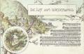 NÖ: Gruß aus Litho 1900 Lieder Karte Die Luft vom Wienerwald