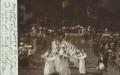 OÖ: Gruß aus Bad Ischl 1908 Ankunft von Kaiser Franz Josef zur Grundsteinlegung + Nachporto 10 Heller