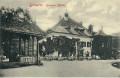 OÖ: Gruß aus Goisern Goiserer Mühle um 1920 mit Tischen Kellner usw...