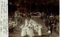 OÖ: Gruß aus Bad Ischl 1902 Erinnerung an die Fahnenweihe d. Veteranen Fotokarte